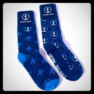 NWT Kuehne + Nagel Socks 2 pairs